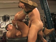 Landon Conrad and Erik Rhodes plow Marc Dylan's eager ass