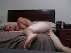 Amateur Gay Dude Eating Cum