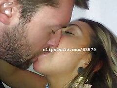 Dave ja Samantha Kissing Video 5