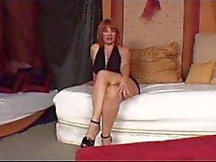 Hot Redhead maduro Cougar Calliste