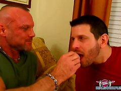 Chad Brock pounds the cum out of his boyfriend Clay Towers