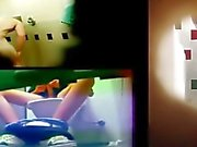 Шпионить str8 Парни твердых членов в туалетах , тренажерный зал душами и писсуаров . Окончание в и