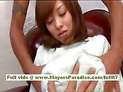 Mihiro chinês preso ao ser provocado com um vibrador