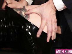 Joanna Angel di ottenere la sua stretto stronzo forato duro
