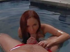 Pool and sex with Amy Reid