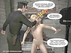 GAY BDSM Nightmare 3D Gay Cartoons Anime Sarjakuvat Bondage