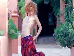 Exotischen Babysitter Abstreifen und das Tanzen