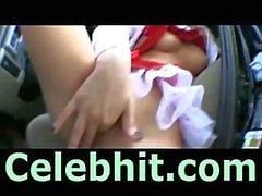 Santa girl banged by POV