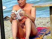 Olgun Nudist amatörler Plajı Voyeur - MILF Close-Up Pussy