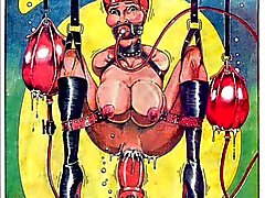 Bisarrt Sex BDSM orgie Comic