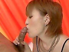 Hinreißender POV Blowjob durch erstaunliche Kaoru Amamiya