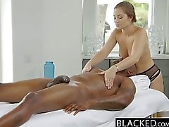 BLACKED Dani Daniels First Interracial
