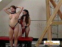 Detrás del escenario Footage de una pena severa