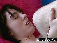 Atractivo de Hot gay cima a Drake de Blaize penetra en la penetran en fuera