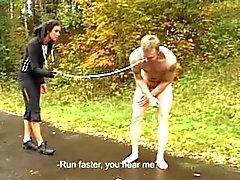 jogging Femdom