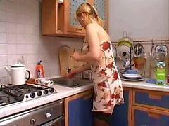 likte in de keuken