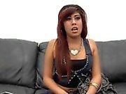 Awesome Latina Trisha Painal Casting First Time Anal