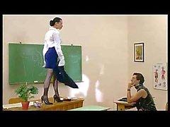 Sıcak doktorlar danışma ve öğretmen lanet ders