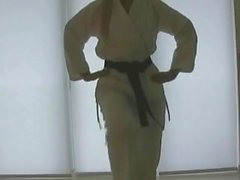 Elegant karatelärare