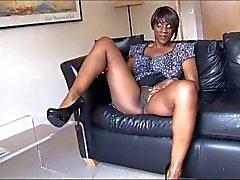 Erittäin seksikäs Ebony