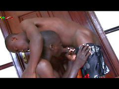 First Time Blowjob Play For African Boy