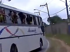 Le Sexing The Orgy Autobus Brésil
