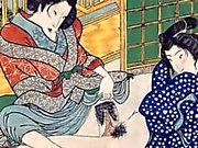 Shunga två Japanese Art