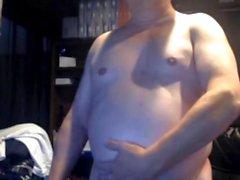 farfar cum på webbkamera