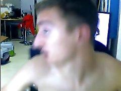 Frankrike , 2 Killar Boys ha att köns , Cumshots in Mouth ( Webbkamera )