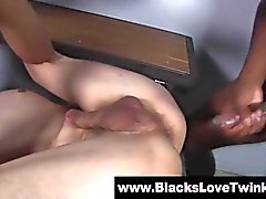 Cute twink black cock fuck