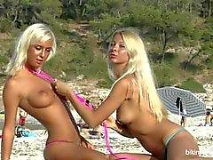 Natali Blond Lea Tyron beyaz kumlar devam ediyor.