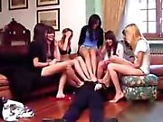 7 Girls Foot Smother