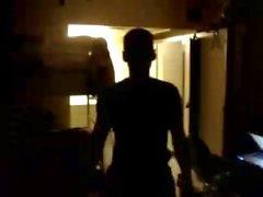 Str8 esercito ragazzo Stiptease nella caserma