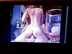 Pornstar Savannah Samson sucks and rides cock
