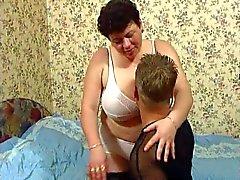 Fat Aikuinen sukkia Anal Sex