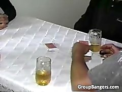 Party poker blir hardcore orgie