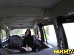 Fake Taxi огромный крема для сексуальной тощей молодой девушки-готы