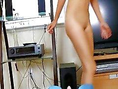 äärimmäisen seksikäs Aasian testausta oikeastaan valtavat lelun