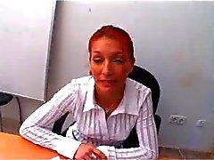 French Redhead Teacher