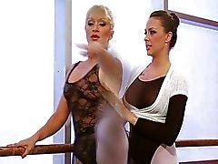 Los bailarines de ballet Lesbianas