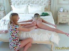 skinny real teen doll gymnast