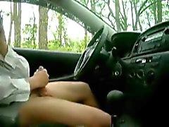 пойман рывков в автомобиль