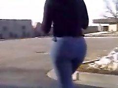 jeans sexy culo nero