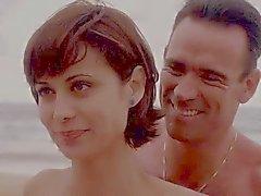Кэтрин Белл ОКГ S05 E15 Синяя бикини