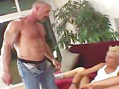 dads blonde slut