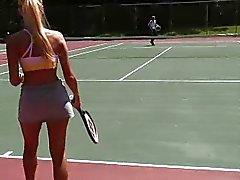 Barbi Loses Tennis Bet