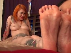 Lesbische Fuß kitzeln Anbetung