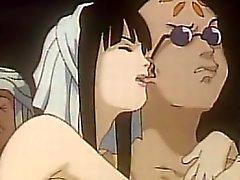 Транссексуал Anime группы групповуха