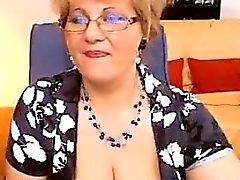 Fat Granny Shows Her Tits