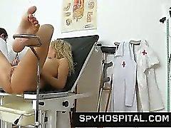 Un separatore nascosti della camma del presso la clinica di gyno